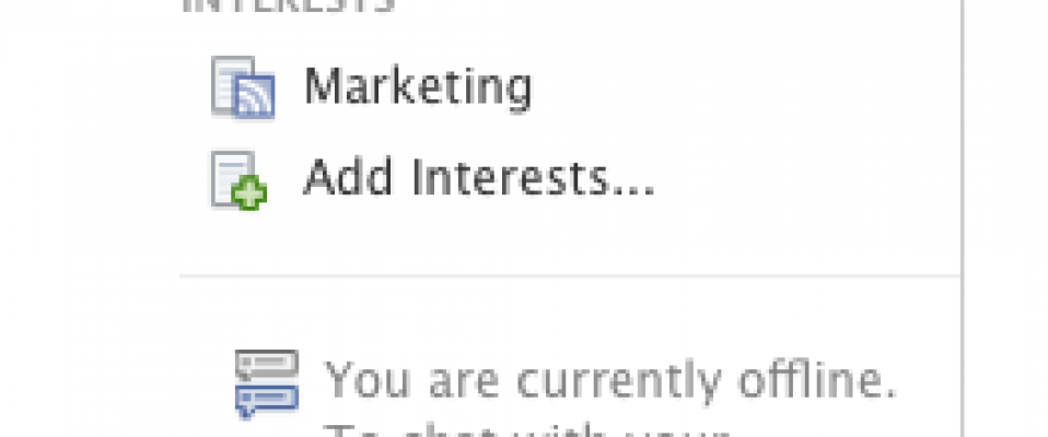 Organizing with Facebook Interest Lists